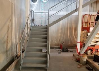 NZDC stairway 1