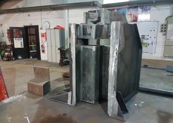 AT150 concrete mould